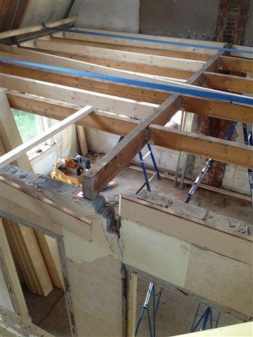 Verbouwing van woning of huis