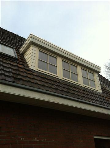 Nieuwe dakkapel op de woning
