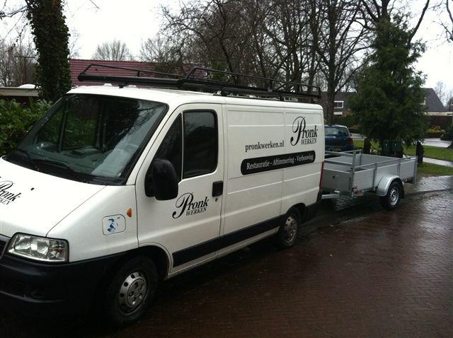 Pronk werken Nieuw-Balinge Drenthe