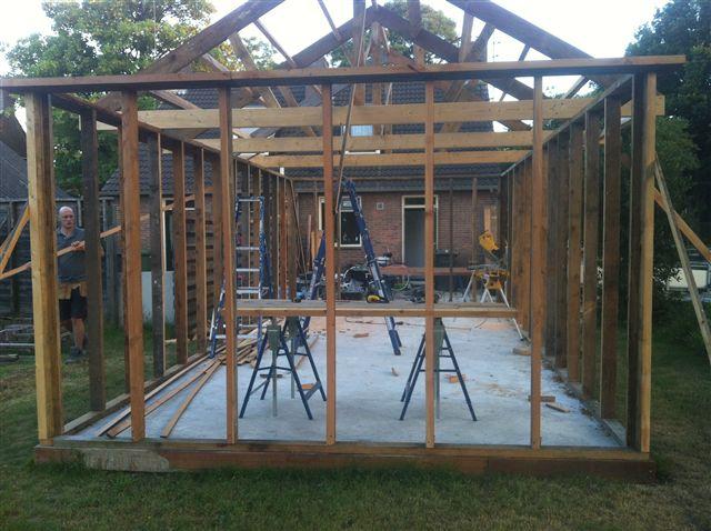 Carport bouwen aan huis simple wanneer heb je een for Compleet huis laten bouwen